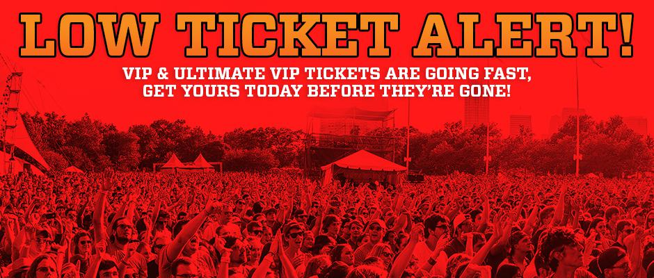 VIP Passes are selling F-A-S-T!