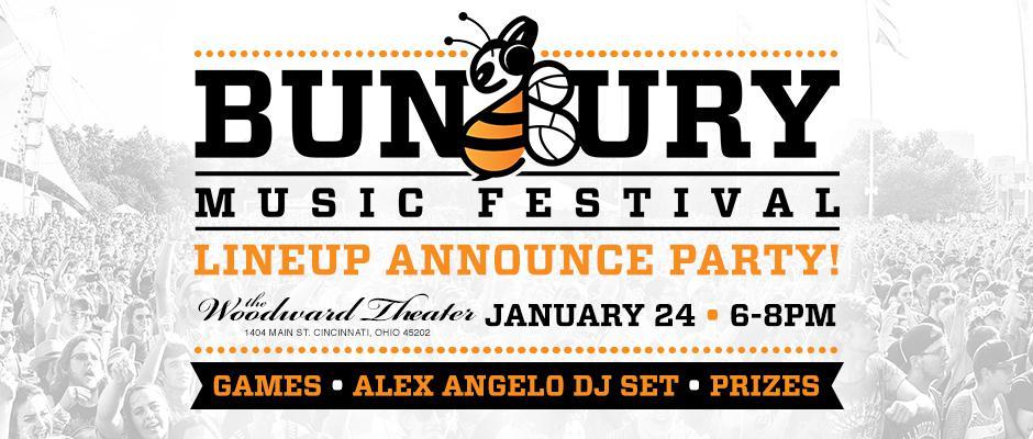 Bunbury Lineup Announce Party